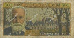 500 Francs VICTOR HUGO FRANCE  1955 F.35.04 B+