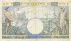 1000 Francs COMMERCE ET INDUSTRIE  FRANCE  1940 F.39.01 TTB+ à SUP