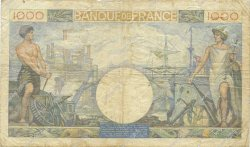 1000 Francs COMMERCE ET INDUSTRIE FRANCE  1940 F.39.03 TB