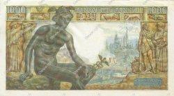 1000 Francs DÉESSE DÉMÉTER FRANCE  1942 F.40.04 SUP+