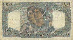 1000 Francs MINERVE ET HERCULE FRANCE  1948 F.41.24 pr.TB