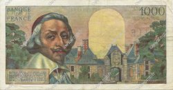 1000 Francs RICHELIEU FRANCE  1954 F.42.04 SUP+