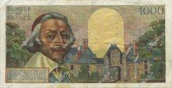 1000 Francs RICHELIEU FRANCE  1955 F.42.10 TTB+