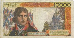 10000 Francs BONAPARTE FRANCE  1957 F.51.10 TB