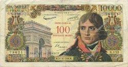 100 NF sur 10000 Francs BONAPARTE FRANCE  1958 F.55.01 TB+