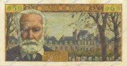 5 Nouveaux Francs VICTOR HUGO FRANCE  1959 F.56.04 SUP+