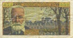5 Nouveaux Francs VICTOR HUGO FRANCE  1962 F.56.12 TTB+