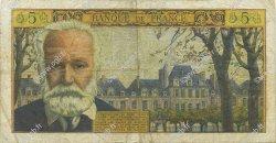 5 Nouveaux Francs VICTOR HUGO FRANCE  1964 F.56.16 TB+