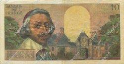 10 Nouveaux Francs RICHELIEU FRANCE  1960 F.57.06 TTB+