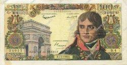 100 Nouveaux Francs BONAPARTE FRANCE  1959 F.59.01 TTB+