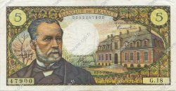 5 Francs PASTEUR FRANCE  1966 F.61.02 pr.SUP