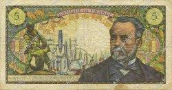 5 Francs PASTEUR FRANCE  1968 F.61.07 TB+