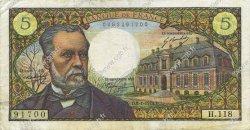 5 Francs PASTEUR FRANCE  1970 F.61.12 TTB
