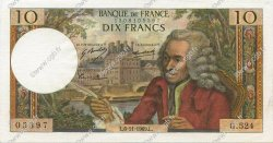 10 Francs VOLTAIRE FRANCE  1969 F.62.40 pr.SPL