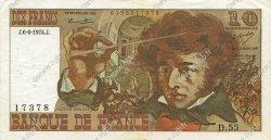 10 Francs BERLIOZ FRANCE  1974 F.63.05 TTB+