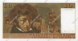 10 Francs BERLIOZ FRANCE  1975 F.63.09 SUP