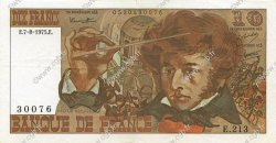 10 Francs BERLIOZ FRANCE  1975 F.63.12 TTB+