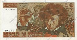10 Francs BERLIOZ FRANCE  1975 F.63.12 SUP+
