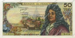 50 Francs RACINE FRANCE  1967 F.64.10 SUP