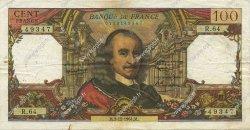 100 Francs CORNEILLE FRANCE  1964 F.65.05 pr.TTB