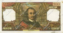 100 Francs CORNEILLE FRANCE  1970 F.65.32 TTB+