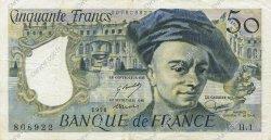 50 Francs QUENTIN DE LA TOUR FRANCE  1976 F.67.01 pr.SUP
