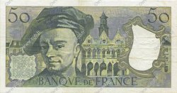 50 Francs QUENTIN DE LA TOUR FRANCE  1976 F.67.01 TTB+
