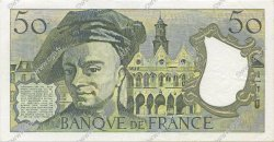 50 Francs QUENTIN DE LA TOUR FRANCE  1983 F.67.09 SUP+