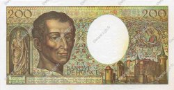 200 Francs MONTESQUIEU FRANCE  1992 F.70.12c SUP+