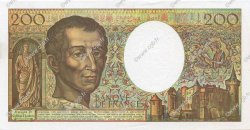 200 Francs MONTESQUIEU FRANCE  1992 F.70.12c SPL