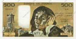 500 Francs PASCAL FRANCE  1968 F.71.02 SUP+