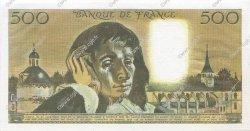 500 Francs PASCAL FRANCE  1986 F.71.34 NEUF