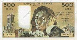 500 Francs PASCAL FRANCE  1992 F.71.50 SUP+