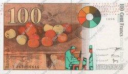 100 Francs CÉZANNE FRANCE  1998 F.74.02 SPL
