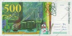 500 Francs PIERRE ET MARIE CURIE FRANCE  2000 F.76.05 SUP