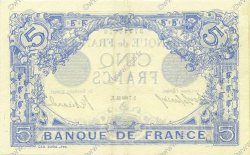 5 Francs BLEU FRANCE  1913 F.02.13 SUP+