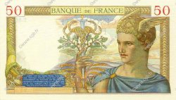 50 Francs CÉRÈS FRANCE  1934 F.17.02 SUP à SPL