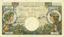 1000 Francs COMMERCE ET INDUSTRIE FRANCE  1944 F.39.10 NEUF
