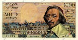 1000 Francs RICHELIEU FRANCE  1956 F.42.20 NEUF