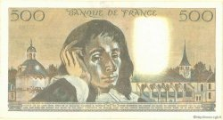 500 Francs PASCAL FRANCE  1968 F.71 TTB