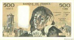 500 Francs PASCAL FRANCE  1968 F.71 TTB+