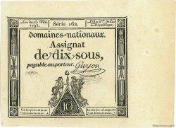 10 Sous FRANCE  1793 Muz.26 NEUF