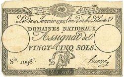 25 Sols FRANCE  1792 Muz.30 SUP