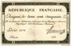 250 Livres FRANCE  1793 Muz.46 pr.SUP