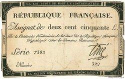 250 Livres FRANCE  1793 Muz.46 TTB