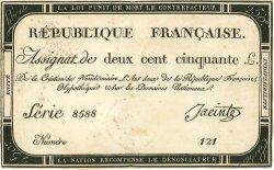 250 Livres FRANCE  1793 Muz.46 TTB+