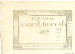 100 Francs FRANCE  1795 Muz.49 SPL