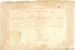 1000 Francs FRANCE  1795 Muz.51 TB+