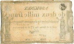 2000 Francs FRANCE  1795 Muz.52 TB+