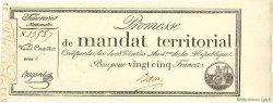 25 Francs FRANCE  1796 Muz.64 NEUF